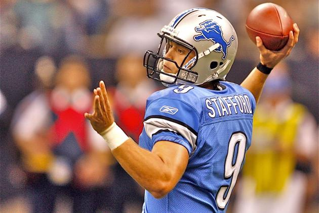 Matthew Stafford Injury: Lions Quarterback Leaves Game with Hand Injury