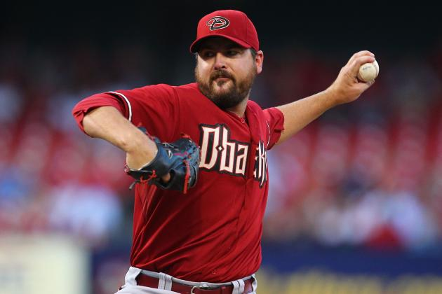 Arizona Diamondbacks Reportedly Close to Trading Joe Saunders