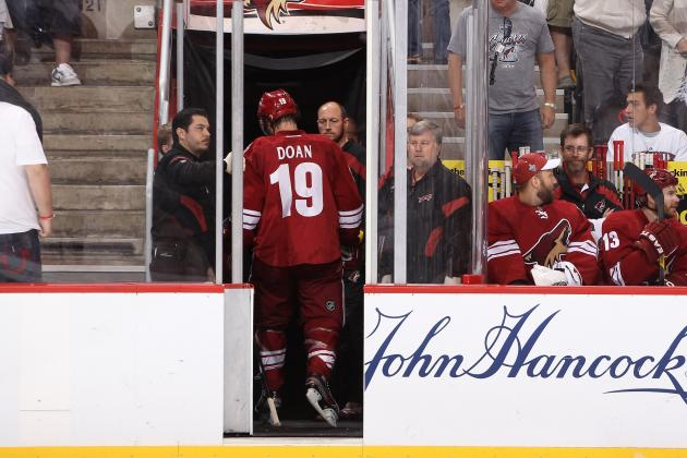 Shane Doan, Phoenix Coyotes Could Be Affected by Glendale Sales Tax Setback
