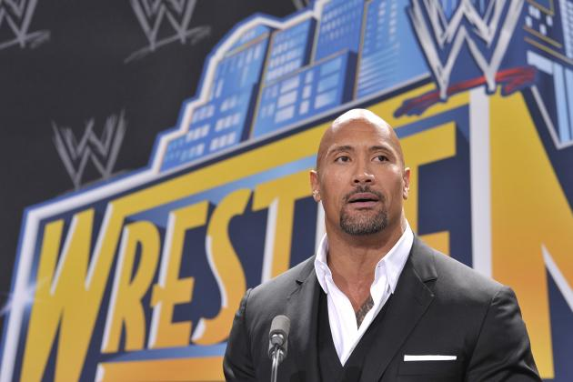 WrestleMania 28: The Rock Was Injured During Match vs. John Cena
