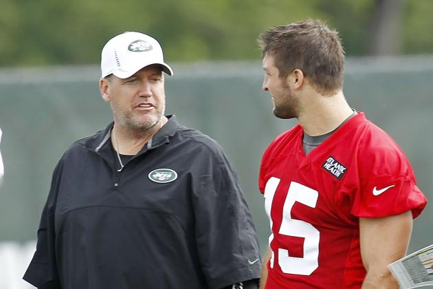 NFL Preseason 2012: Rex Ryan Wants Secrecy for Tim Tebow, New Offense