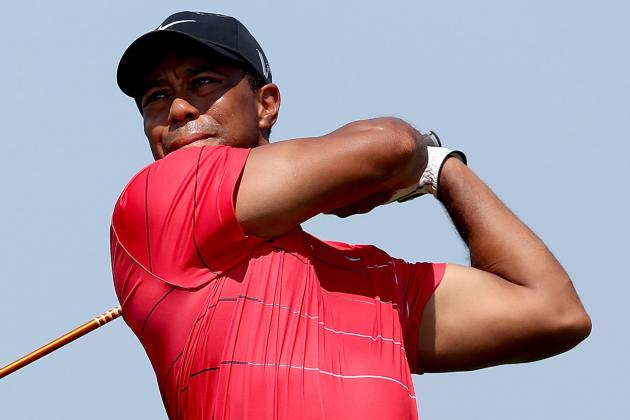 Tiger Woods at Barclays 2012 Tracker: Day 4 Highlights, Updates and More