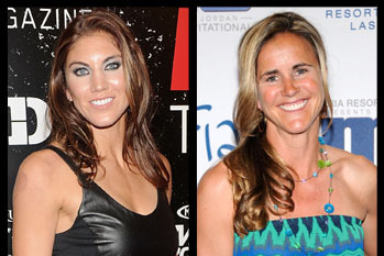 Hope Solo Should Apologize to Legend Brandi Chastain