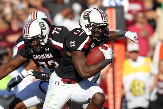 South Carolina vs. Vanderbilt: Marcus Lattimore, Props and Predictions