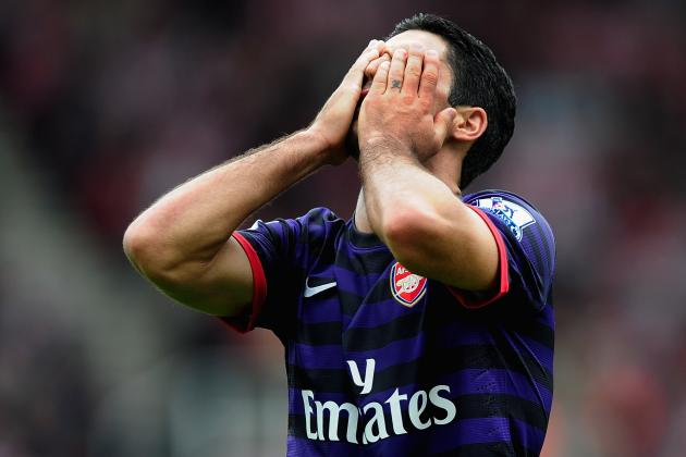 Stoke 0-0 Arsenal: Arsenal Should Take Positives from Game Despite Another Draw