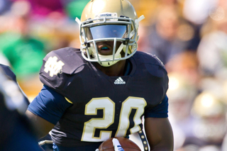 Cierre Wood Suspended: Notre Dame RB Receives 2-Game Suspension
