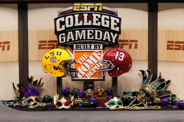 2012 College Football TV Schedule Week 1: TV Listings for the Upcoming Week