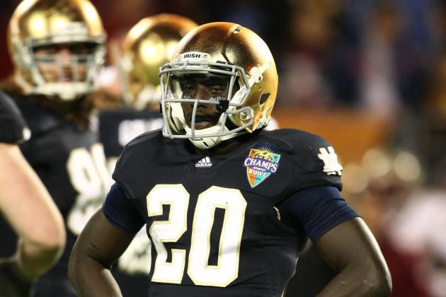 Notre Dame Football: Cierre Wood Making the Wrong Kind of Headlines, CB Ignored