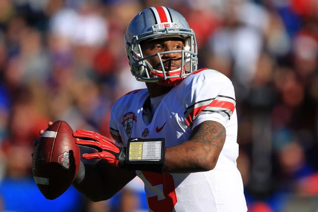 Ohio State Football: Buckeyes' Success Rests on QB Braxton Miller's Shoulders