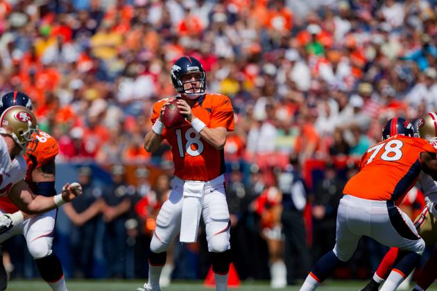 Peyton Manning Ready to Go in Season Opener Against the Pittsburgh Steelers