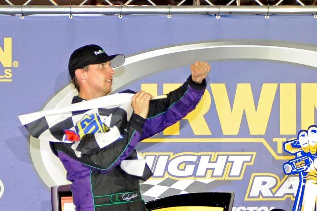 Denny Hamlin Battles Bristol for 3rd Win