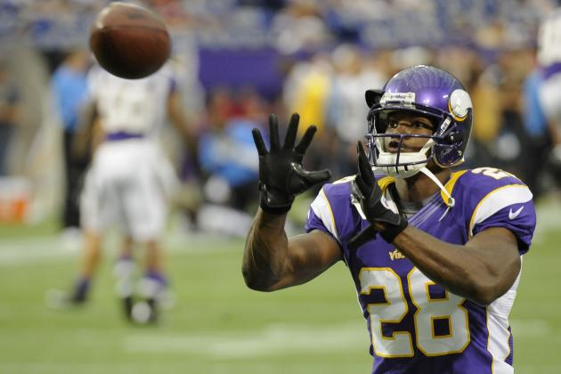 Fantasy Football Rankings 2012: Adrian Peterson and Injury Prone RBs to Avoid