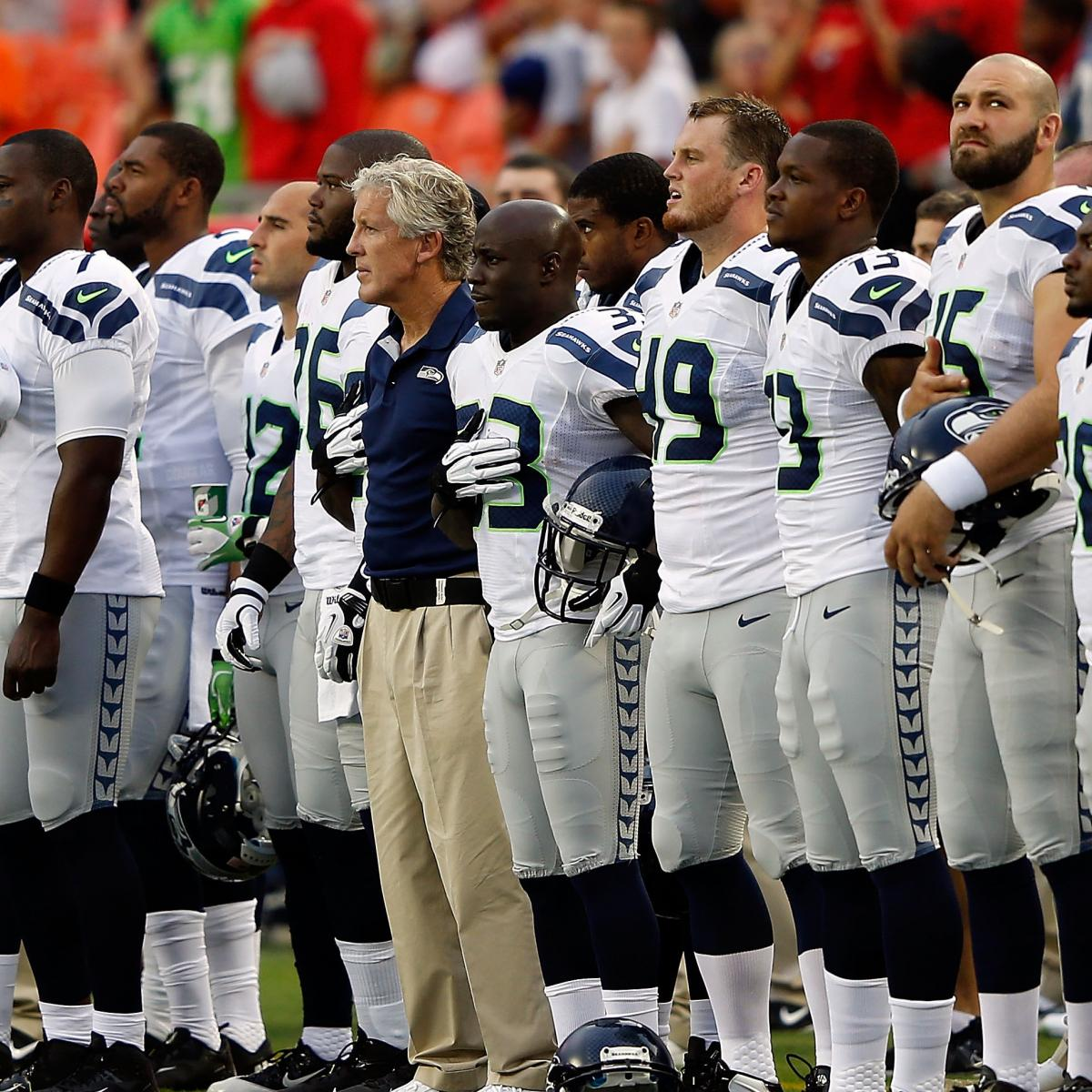 Seattle Seahawks Roster 2012: Latest News, Cuts and NFL