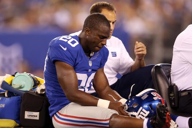 New York Giants: How Quickly Can Prince Amukamara Recover from Ankle Sprain?
