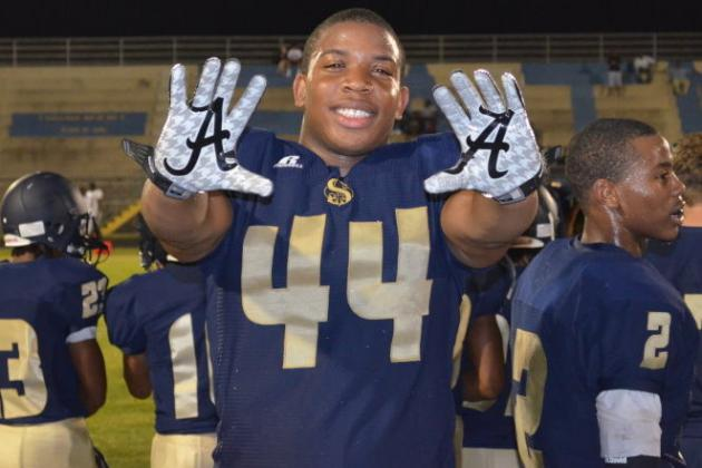 Alabama Football: What Commitment of 4-Star DE DeMarcus Walker Means for Tide