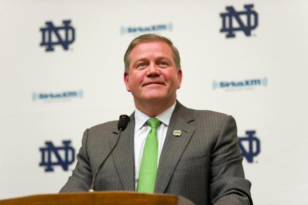 Is Brian Kelly Restoring Discipline to Notre Dame Football or Losing Control?