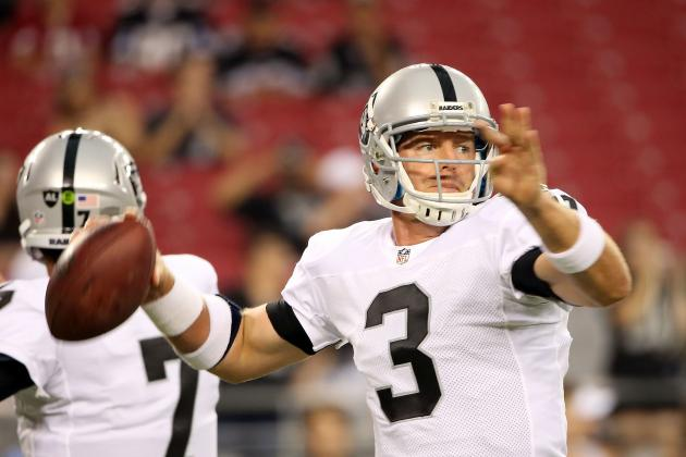 Oakland Raiders: Why Carson Palmer Is Team's Most Important Veteran