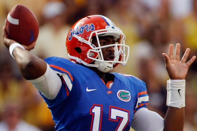 Florida Football: QBs Rotating in 1st Half Is Perfect System for Gators