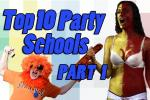 Top Ten Football Party Schools