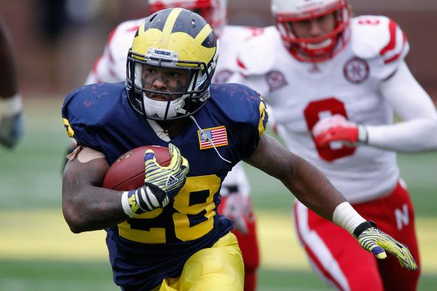 Michigan Football: Fitz Toussaint Should Play, and Brady Hoke Should Admit It