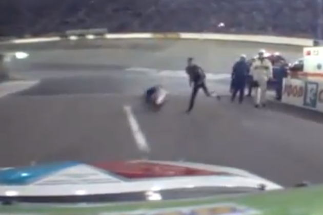 NASCAR Wrong Not to Fine Tony Stewart for His Helmet Throwing Incident