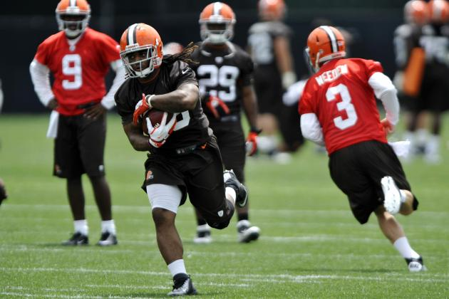 How Trent Richardson Will Provide Huge Boost to Browns' Offense in 2012