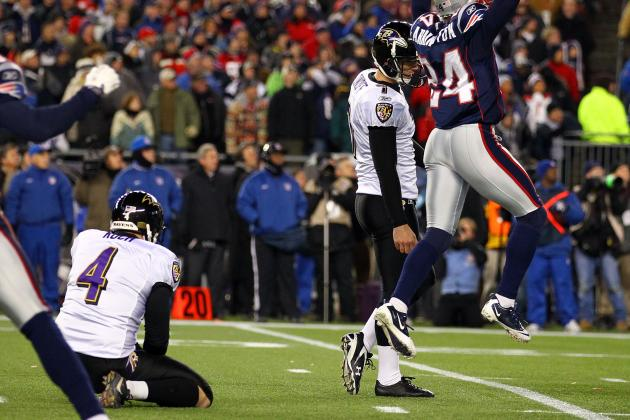 Baltimore Ravens Had No Option but to Release Billy Cundiff