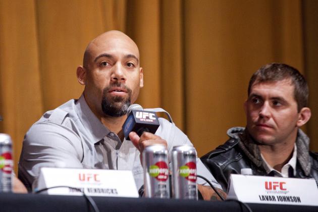 Brendan Schaub vs. Lavar Johnson, 3 Other Fights Added to UFC on Fox 5