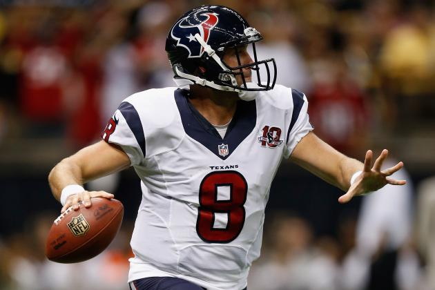 Fantasy Football 2012: Why Matt Schaub Is an Ideal Backup QB