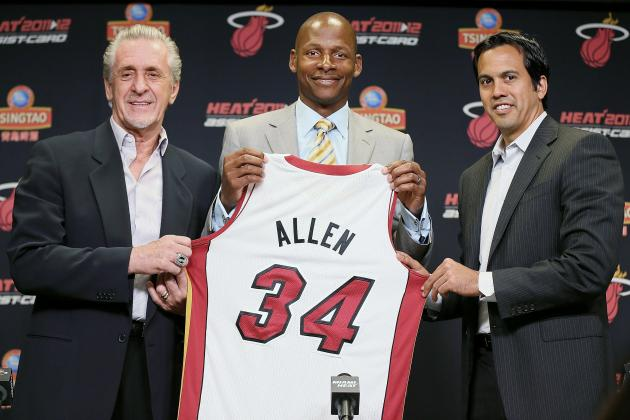 NBA: Why Ray Allen of Miami Heat Will Contribute Big-Time This Season