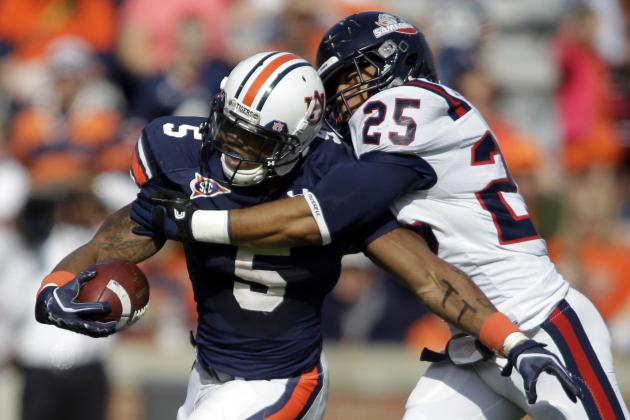 Ex-Auburn RB Dyer Picks Ark. Baptist College