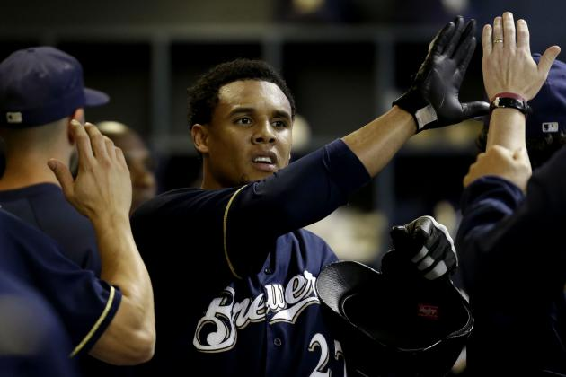 Milwaukee Brewers: Carlos Gomez Finally Living Up to His Potential