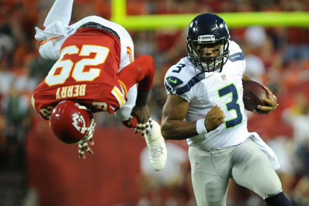 Russell Wilson Competes His Way into Seattle Seahawks' Starting QB