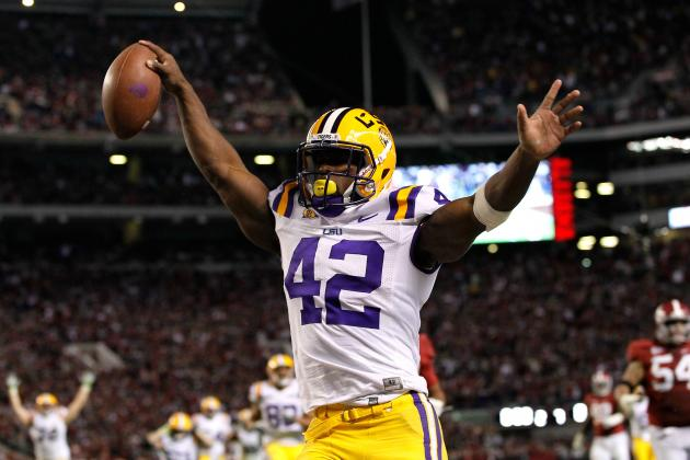 LSU Football: Academic Issues Could Sideline RB Michael Ford and LB Tahj Jones