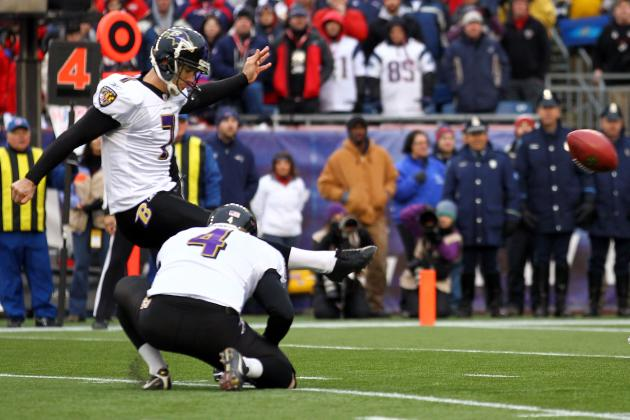NFL Free Agency 2012: Redskins Reportedly Sign Kicker Billy Cundiff