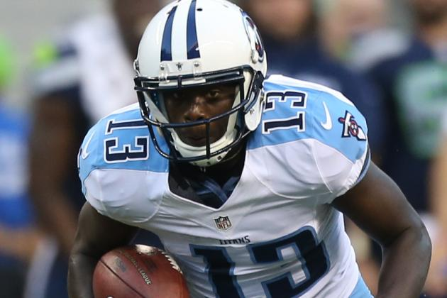 Kendall Wright Still a Work in Progress for the Titans