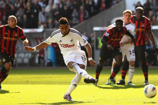 Manchester City's £6.2 Million Bid for Scott Sinclair Rejected by Swansea