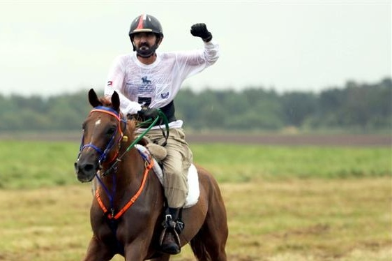 Sheikh Mohammed Leads UAE Victory at Horse Endurance World Championships