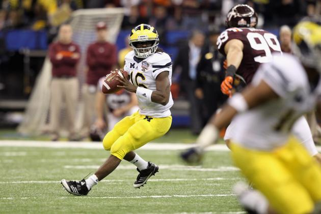 Michigan Football: Denard Robinson and More Keys to a Wolverine Win over Alabama