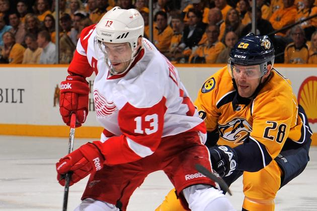 Red Wings' Pavel Datsyuk Weighing KHL Options in Case of NHL Lockout