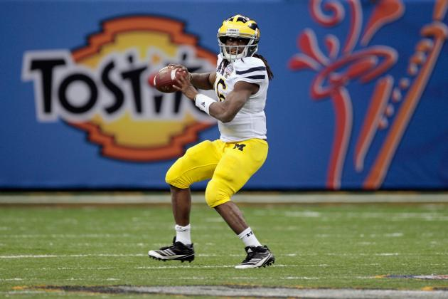 Michigan Football: Why Denard Robinson Won't Have Spectacular Senior Season
