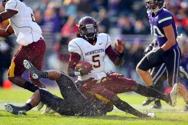 Gophers Hoping 'Athletes' Turn Into Playmakers
