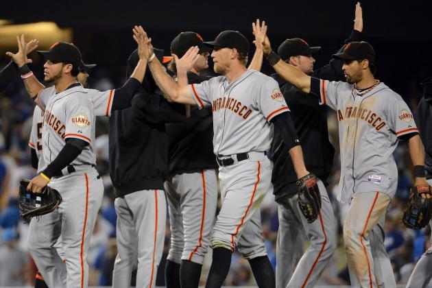 San Francisco Giants Largely Unfazed by Dodgers' Blockbuster and Rightfully So