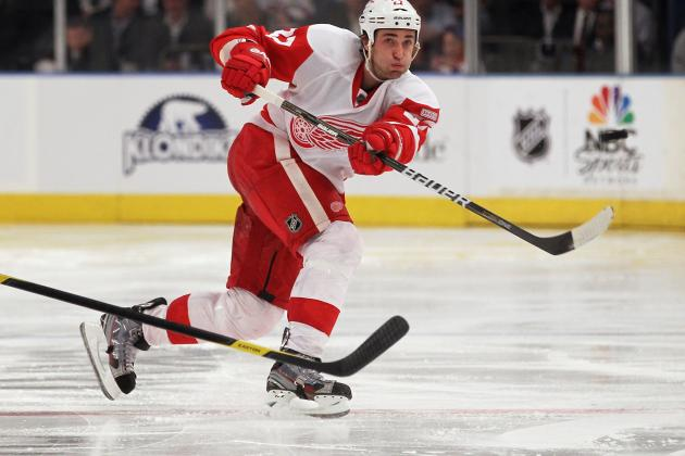 Quincey Hoping for Expanded Role with Red Wings After Lidstrom, Stuart Depart