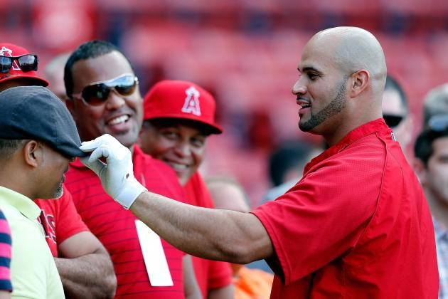 Angels Targeting Tuesday for Pujols' Return