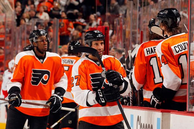 Philadelphia Flyers' Projected 2012-13 Lineup
