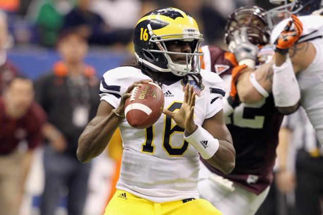 College Football Picks Week 1: Elite Programs That Will Suffer Opening Day Upset