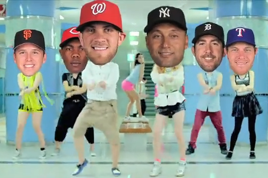 MLB postseason goes gangnam style with oddly mesmerizing video