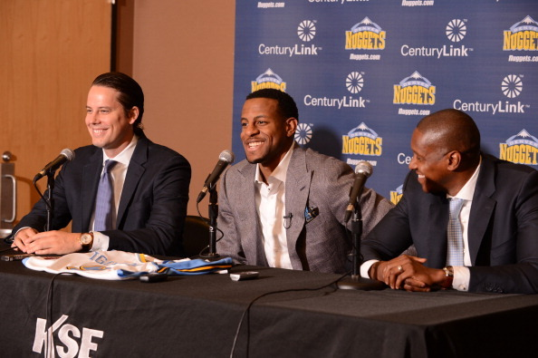 Does Andre Iguodala Push the Denver Nuggets into 'Contender' Territory?
