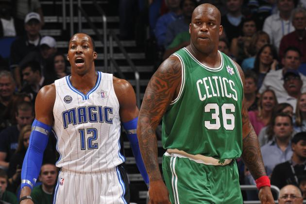Los Angeles Lakers: Comparing Dwight Howard and Shaquille O'Neal